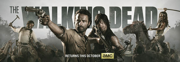 The Walking Dead Season 4 Comic Con Banner